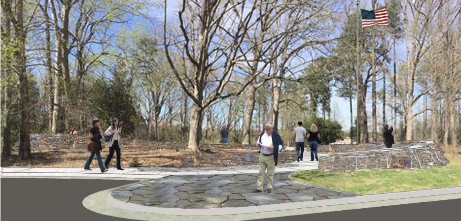 The Memorial Entrance