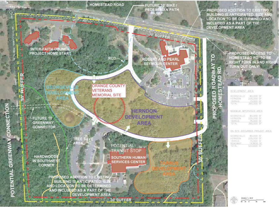 Memorial Site Plan