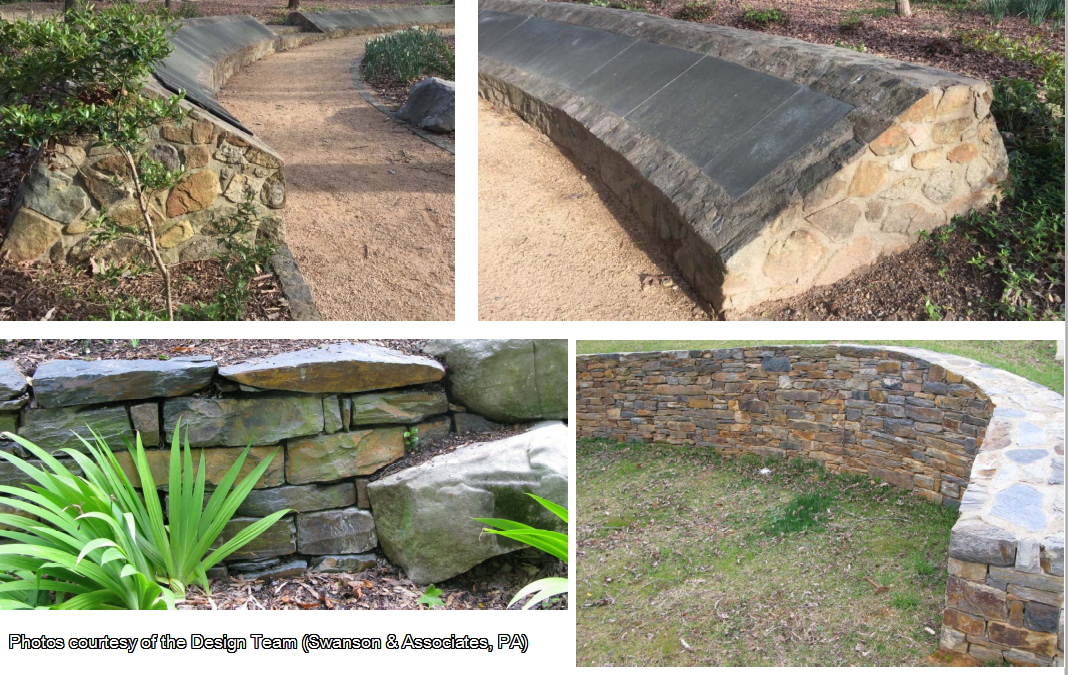 Samples of Potential Stone Walls